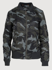 Bomber Jacket - Grey Camo