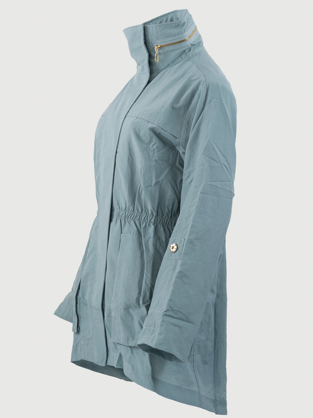 anorak jacket cameo blue