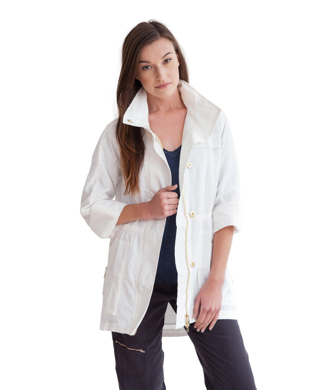 anorak jacket white