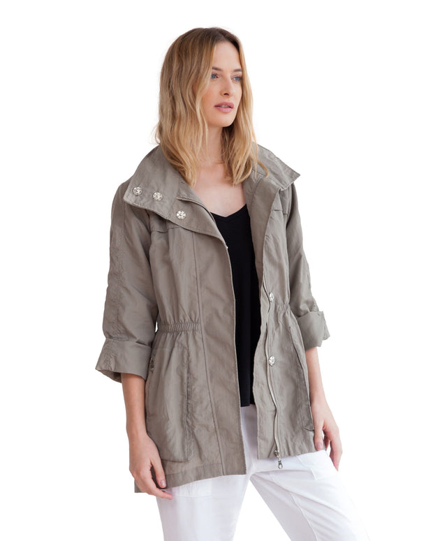 anorak jacket new khaki