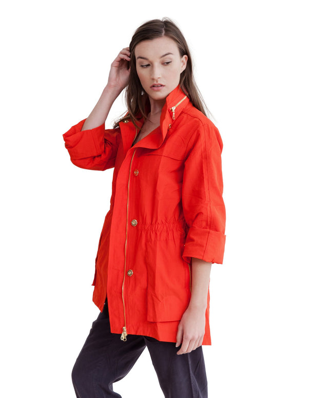 anorak jacket Poinciana