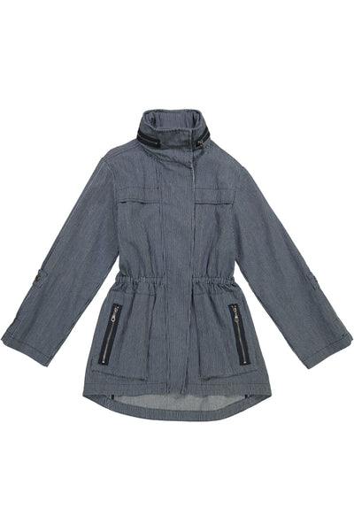 The Railroad Stripe Anorak