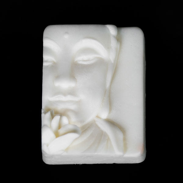 Buddha with Lotus Flower - Shea Butter Soap