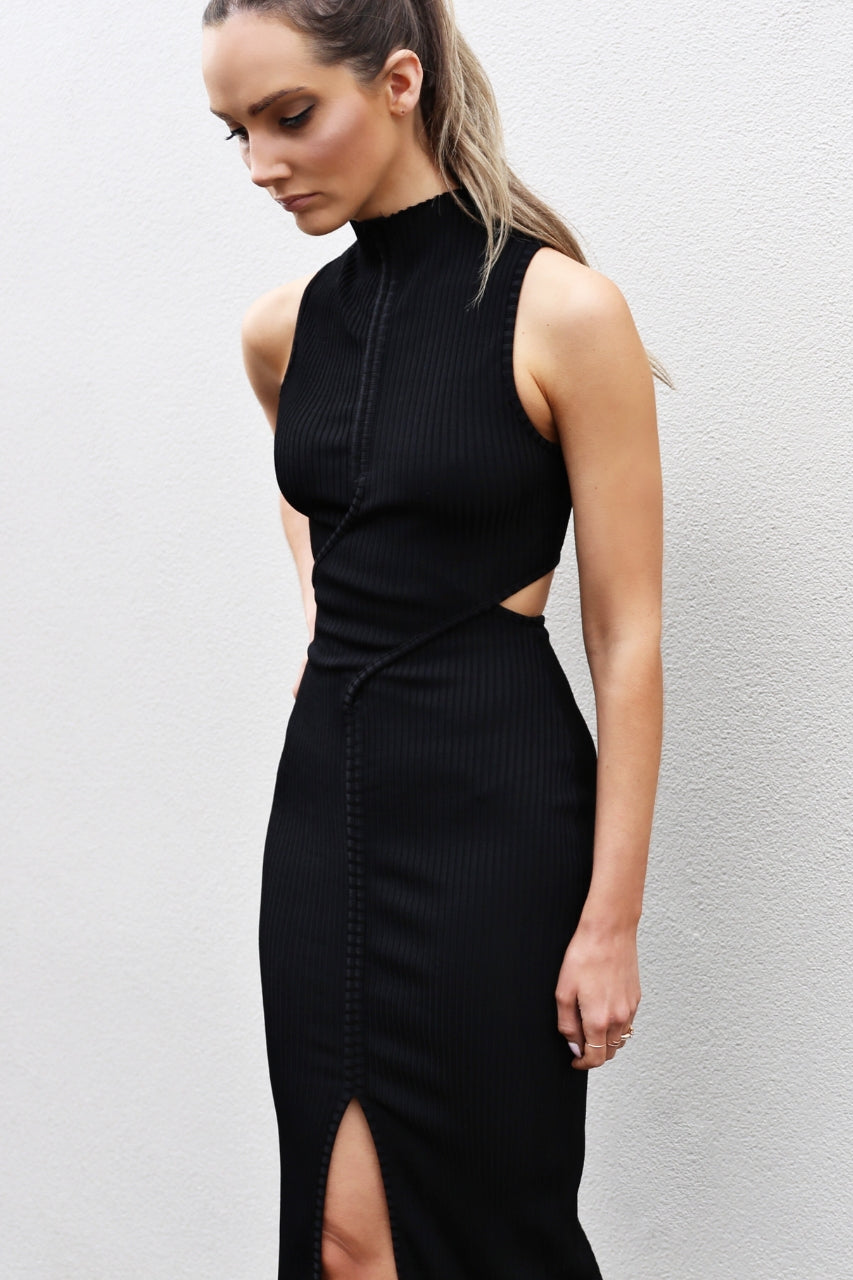 Bec & Bridge Dark Instinct Midi Dress