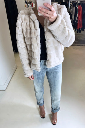 Cecile Faux Fur Jacket