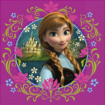 Frozen Party Napkins, party supplies, NZ