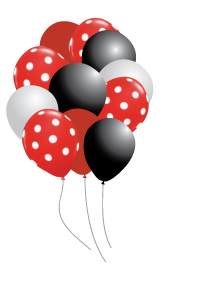 Little Ladybug Party Balloons