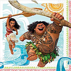 Moana Party Lunch Napkins