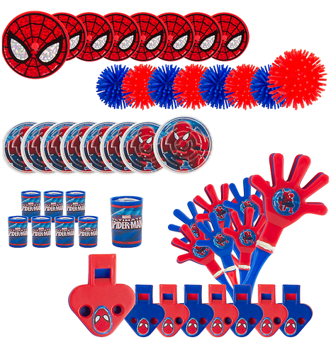 Spiderman Mega Party Favour Pack