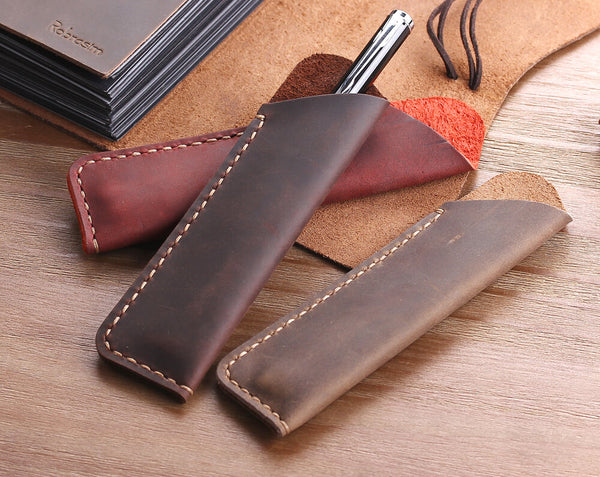 leather pencil bag