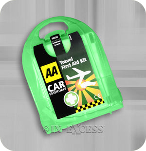 AA Car Essentials Pocket Sized Travel Handy First Aid Kit