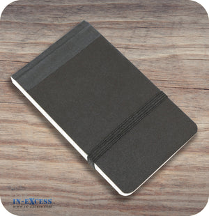 Flip Pad Note Pad With Numbered Pages For Notes - Black