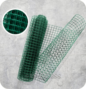 Garden Multi-Purpose PVC Green Plastic Garden Mesh 19mm - 5 Metres