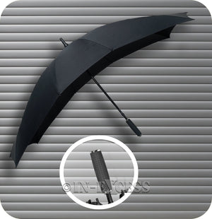 Falcone Duo Double Twin Umbrella - Black