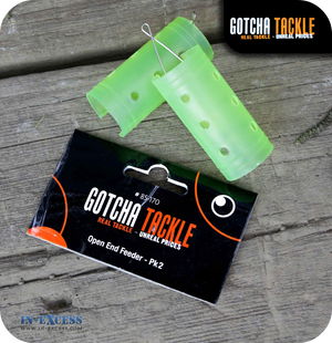 Gotcha Tackle Open End Feeder Pk 2