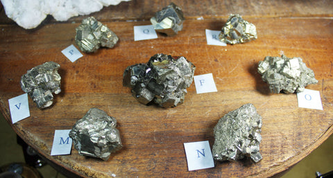 Stunning Pyrite Clusters for Abundance and Luck