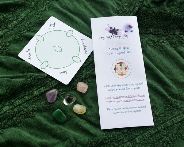 The Basic Collection - Setting up Your First Crystal Grid