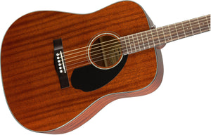 Fender CD-60S All Mahogany - Natural