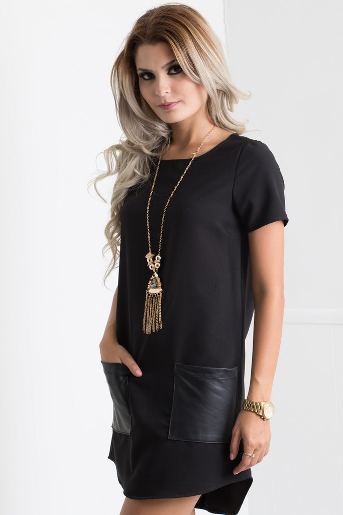 Two Pocket Casual Cami Dress - Adore Fashion