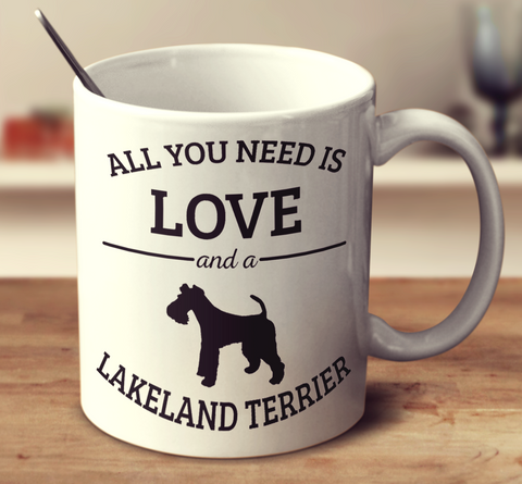 All You Need Is Love And A Lakeland Terrier