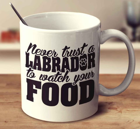 Never Trust A Labrador To Watch Your Food