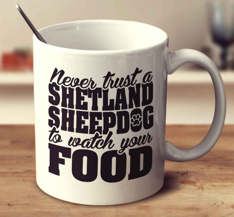 Never Trust A Shetland Sheepdog To Watch Your Food