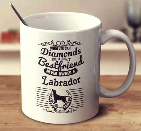 Whoever Said Diamonds Are A Girl's Bestfriend Never Owned A Labrador