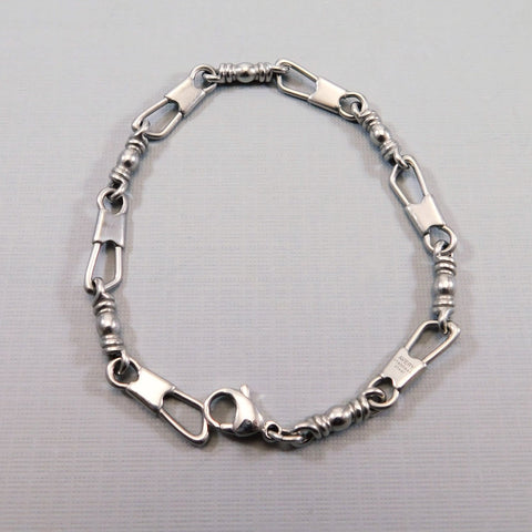 James Avery Fishers of Men Stainless Bracelet