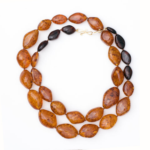 ROPE 31 amber necklace