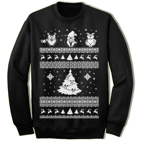 Owl Christmas Sweater