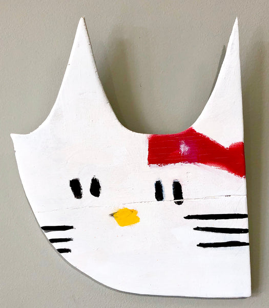 Anthony Lister: Hello Kitty (White)