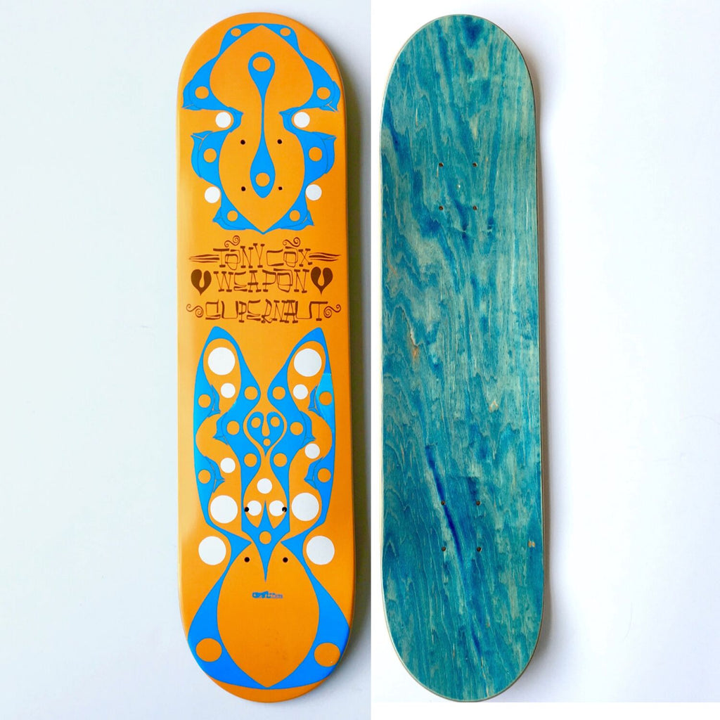 Phil Frost x Tony Cox x Supernaut: Skateboard Deck