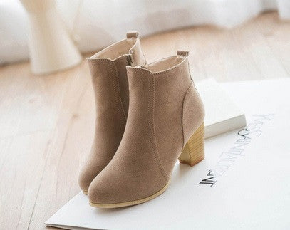 Women's Soft Leather Boots - 3 Colors!