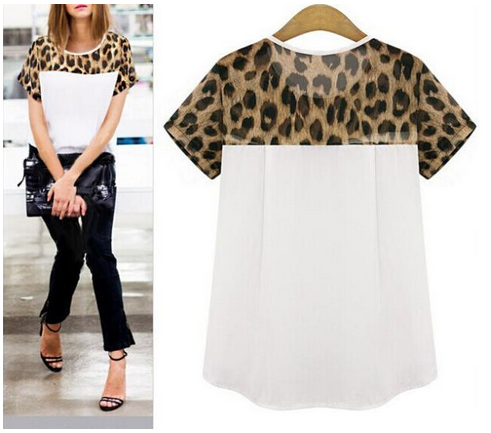 Women's Leopard Print Shirt NOW In + Plus Sizes