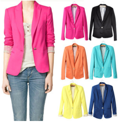 NEW! Women's Blazer in 7 COLORS - Hot100Fashions