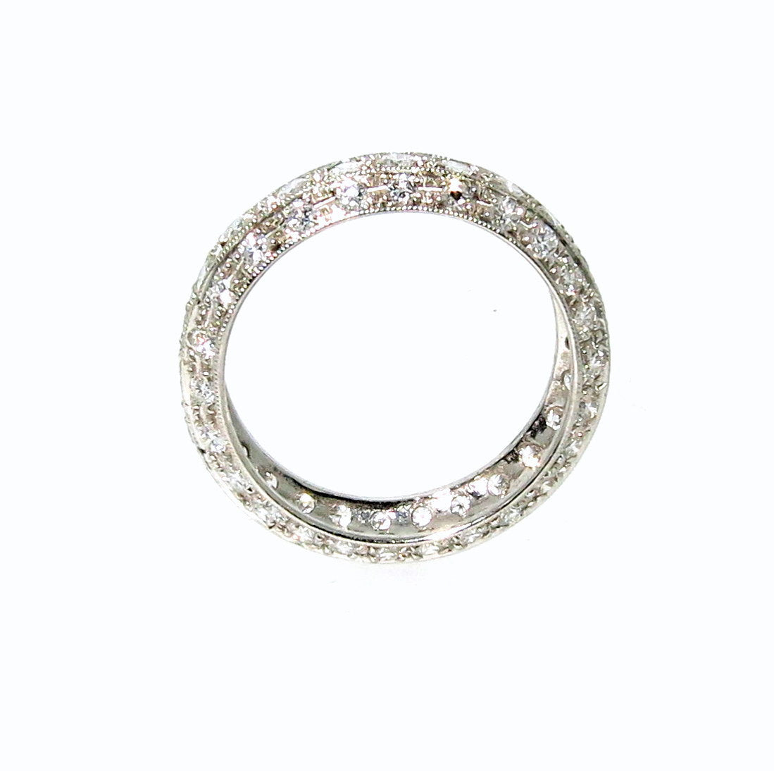 Diamond Wedding Band, Eternity Ring