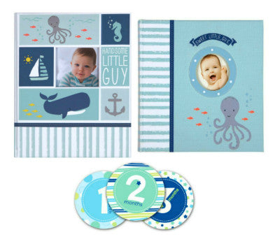 $10 Off Carters Under The Sea Baby Memory Book Gift Set