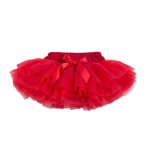 Newborn Baby Photo Shoot Tutu Skirt, Red