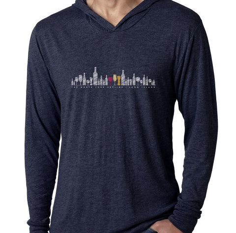 NoFo Skyline Hooded Tees - Long Sleeve