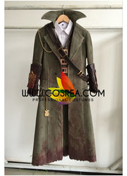Cosrea Games Bloodborne The Hunter Cosplay Costume
