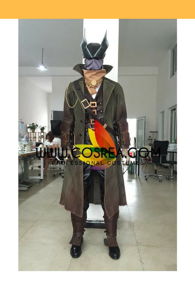 Cosrea Games Bloodborne The Hunter High Detail Cosplay Costume