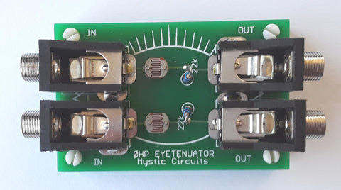 Mystic Circuits 0HP EYEtenuator