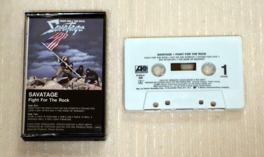 Savatage ‎– Fight For The Rock - Cassette