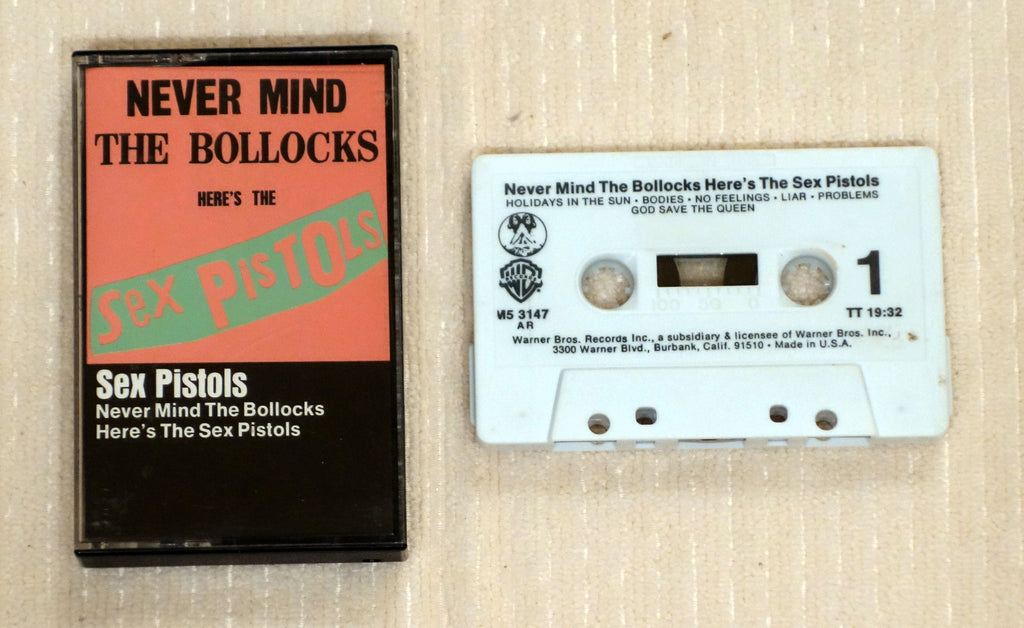 Sex Pistols ‎– Never Mind The Bollocks Here's The Sex Pistols - Cassette
