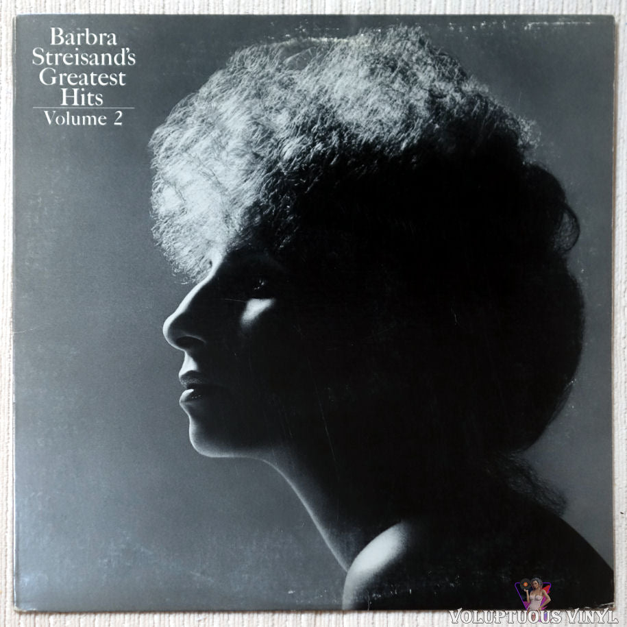 Barbra Streisand ‎– Barbra Streisand's Greatest Hits - Volume 2 vinyl record front cover