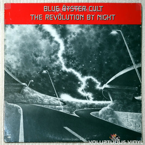 Blue Öyster Cult ‎– The Revölution By Night - Vinyl Record - Front Cover