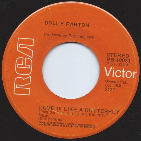 Dolly Parton ‎– Love Is Like A Butterfly vinyl record