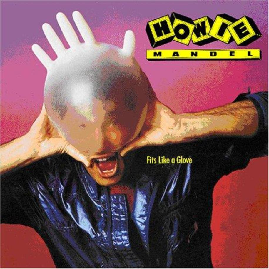 Howie Mandel ‎– Fits Like A Glove vinyl record front cover