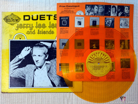 Jerry Lee Lewis And Friends ‎– Duets vinyl record