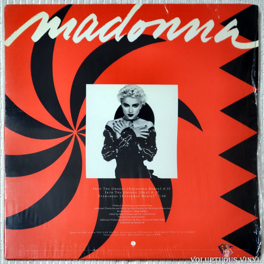 Madonna ‎– Into The Groove / Everybody - Vinyl Record - Front Cover
